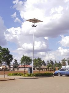 Solar Lighting.
