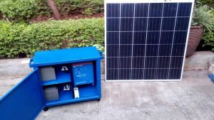 Portable Solar Power Kits.
