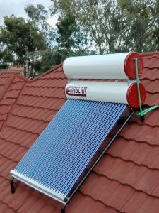 Solar Water Heating.
