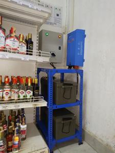 1600Va Inverter Charger Power Backup System Supplying Power To a Liquor Store In Kutus- Kirinyaga County