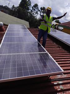 3.12KW Solar Power Installation Project For A Primary School In Riruta Satelite