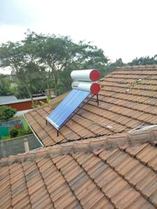 260L Vacuum Tube Solar Hot Water System Installed For  Catholic Church- Utawala