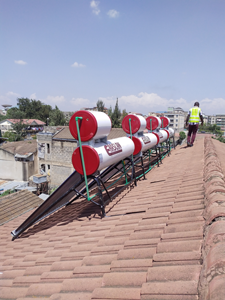 Commissioning Of 640L Solar Water Heating Systems For Catholic Sisters In Donhom Nairobi