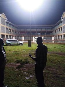 Solar Floodlighting at A School In Eldoret