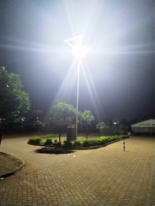 Solar High Mast Lighting At A Boarding Primary School In Donholm- Nairobi.