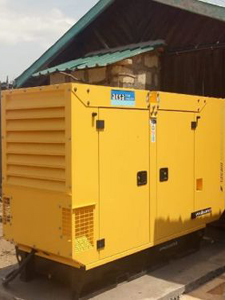 Supply and Installation of a 70Kva 3-Phase Silent Diesel Power Generator at a Dairy Farm In Meru County