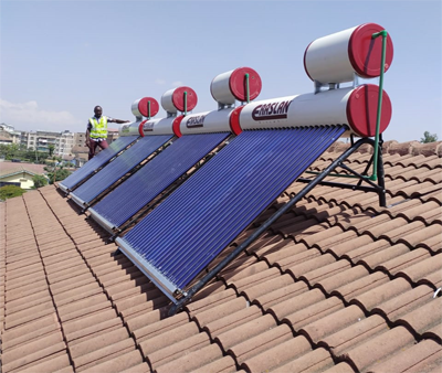Solar Water Heating.